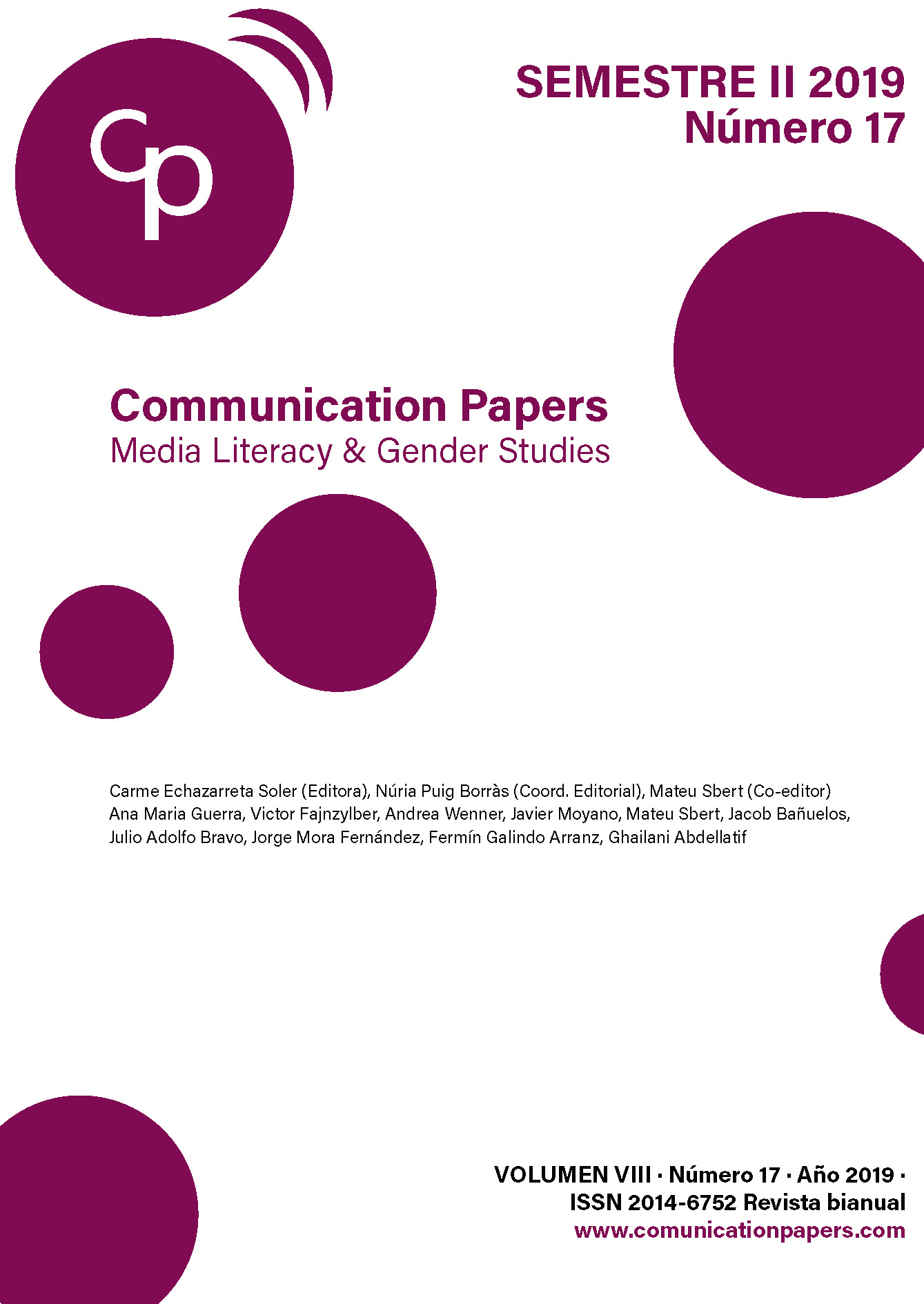 Communication Papers. N.17